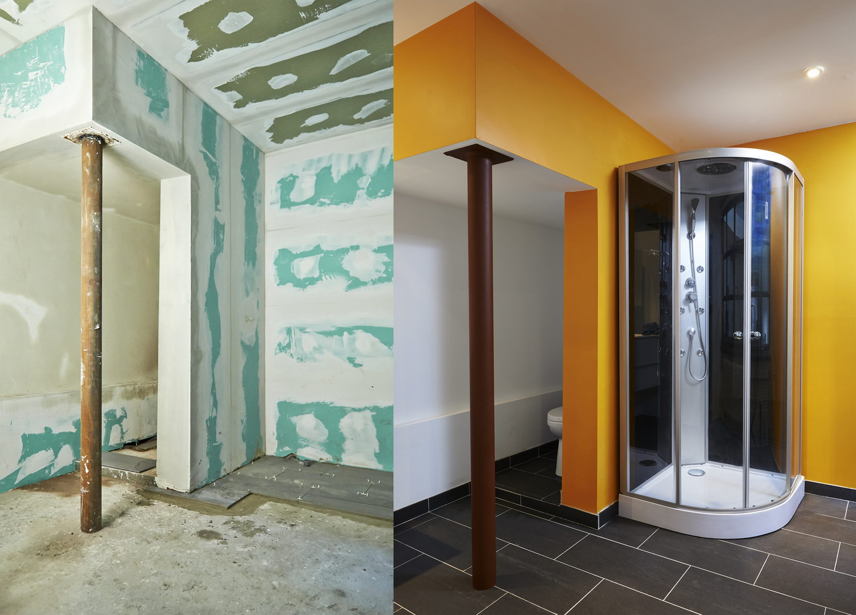 Les tapes de la r novation d 39 une salle de bain budget plans devis - Renovation salle de bain prix ...
