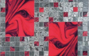 mosaïque rouge aubade