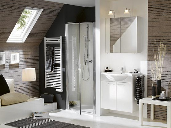 salle de bain moderne rustique ou contemporaine quel. Black Bedroom Furniture Sets. Home Design Ideas
