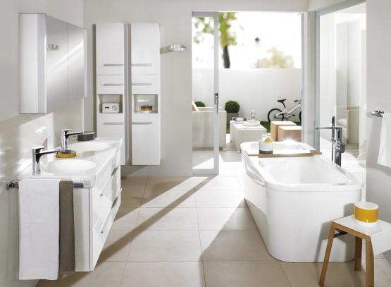 Lavabos et vasques prix moyen et diff rents types de vasques - Villeroy et boch salle de bain prix ...