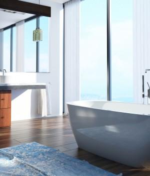 Parquet pour salle de bain prix moyen au m2 fourniture for Prix m2 salle de bain