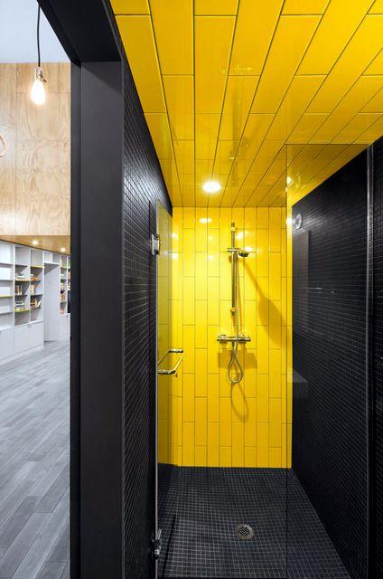 salle de bains jaunes 32 id233es pour une d233coration lumineuse