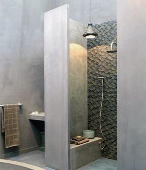 prix au m2 pour la pose de rev tement tadelakt dans une salle de bains. Black Bedroom Furniture Sets. Home Design Ideas