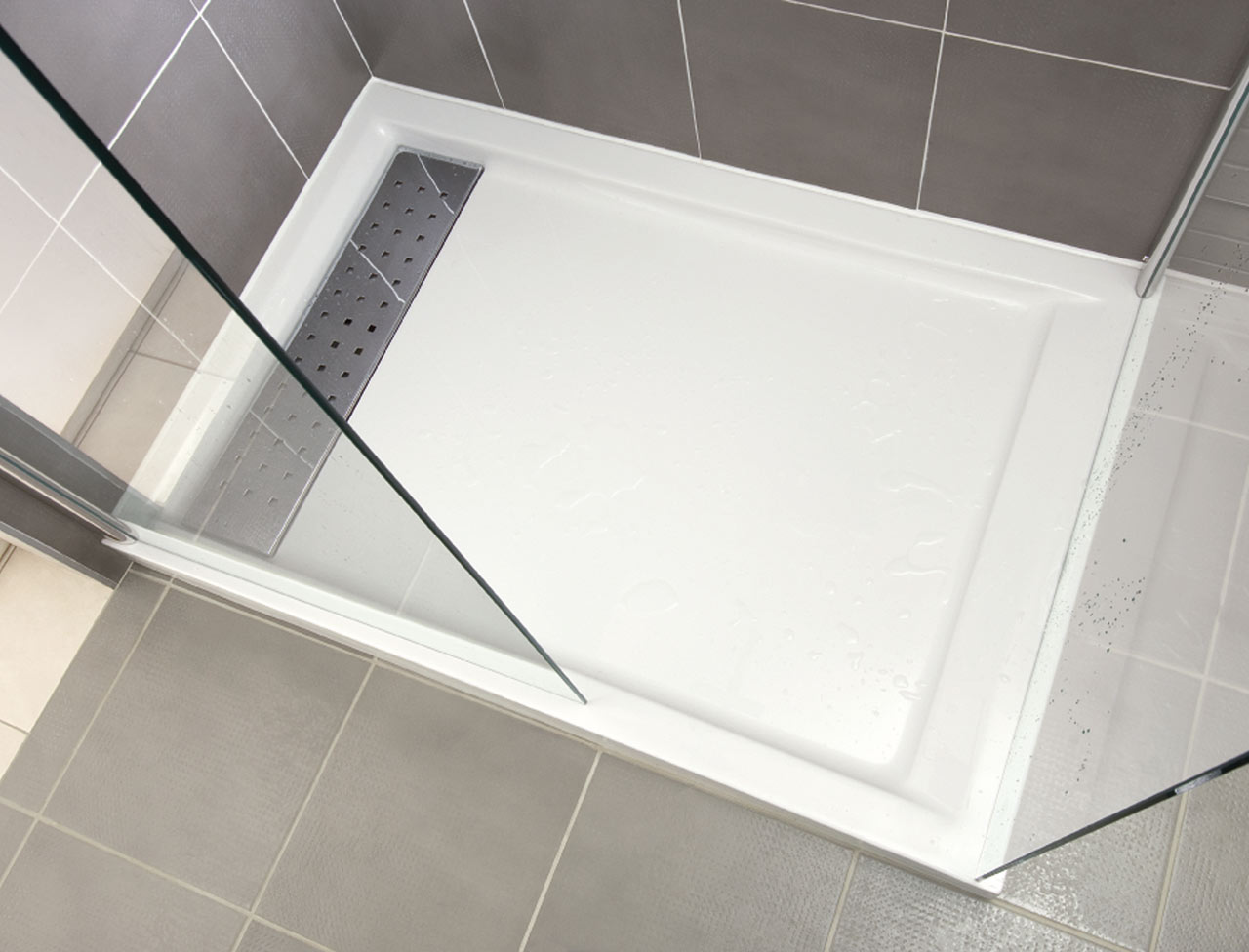 Carrelage design joint carrelage douche moderne design - Joint de carrelage salle de bain ...