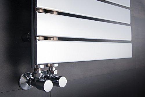 sche serviettes eau chaude 585w 1380 x 500mm - Radiateur Eau Chaude Salle De Bain