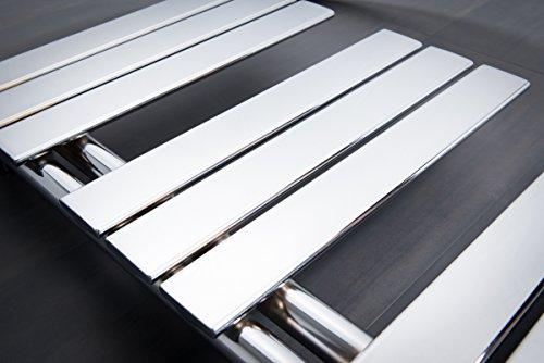 S che serviettes radiateur plat design eau chaude 585 watts 1380 x 500 chrome - Prix creation salle de bain ...