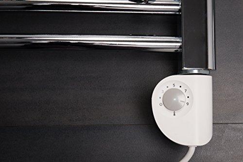 S che serviettes radiateur moderne lectrique thermostatique vienna 348w 11 - Prix creation salle de bain ...